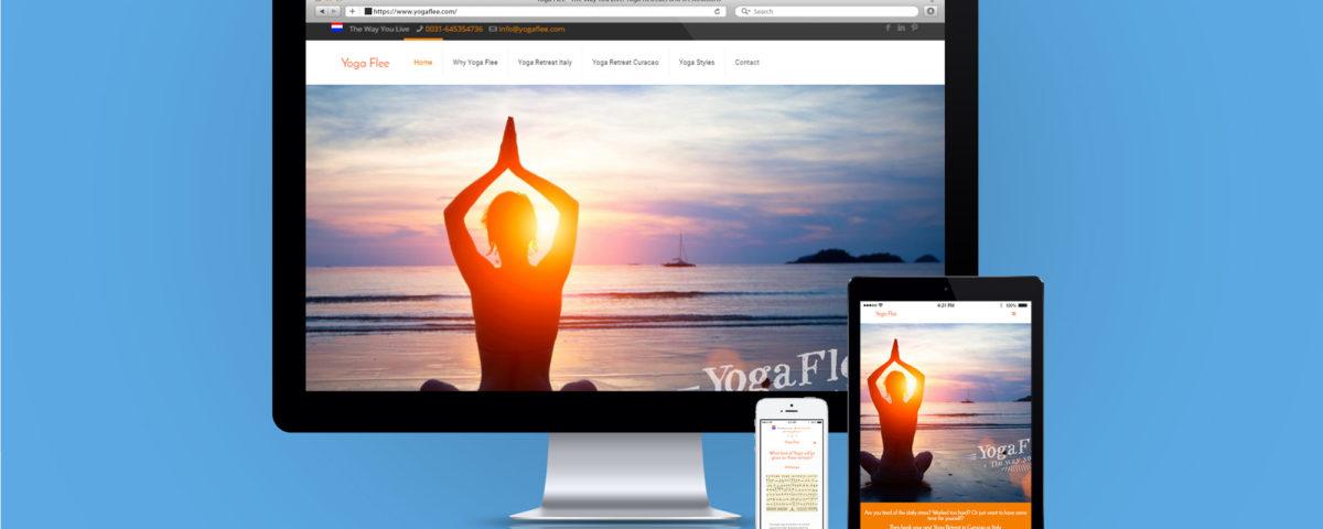 Yogaflee Website