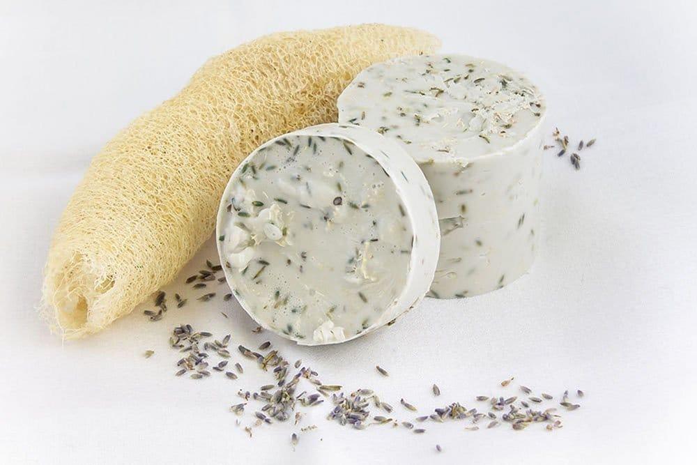 Soap with Loofa